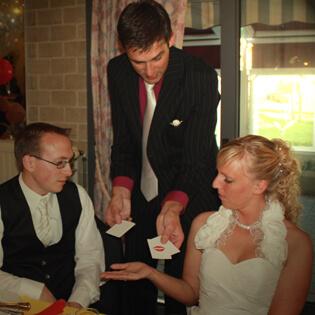 goochelaar huwelijksfeest