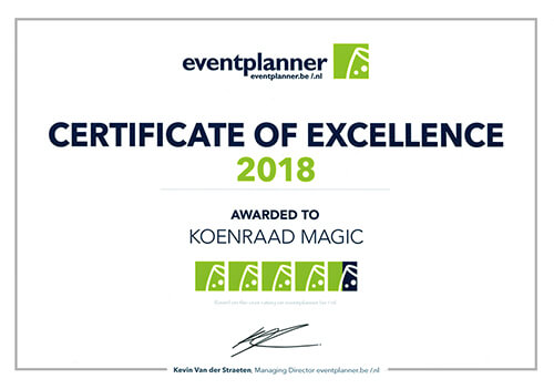 Koenraad Magic Award